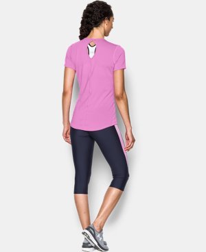 Women's UA HeatGear® CoolSwitch Short Sleeve LIMITED TIME: FREE U.S. SHIPPING 1 Color $20.24 to $26.99
