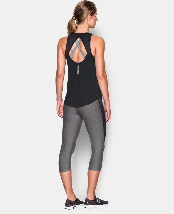 Women's UA Fly-By 2.0 Fitted Tank   $44.99