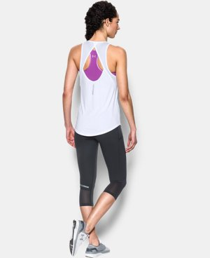 Women's UA Fly-By 2.0 Fitted Tank LIMITED TIME: FREE U.S. SHIPPING 2 Colors $22.49 to $29.99