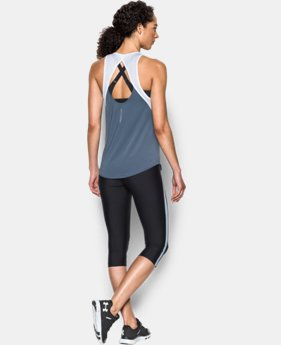 Women's UA Fly-By 2.0 Fitted Tank   $39.99