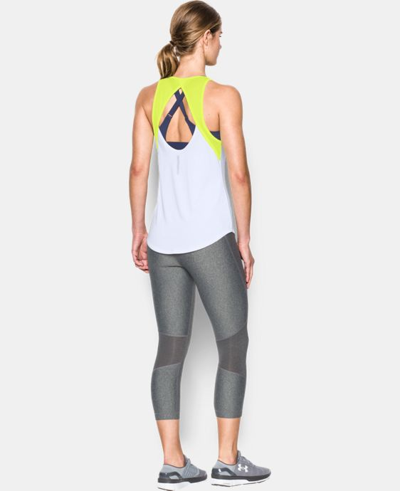 Women's UA Fly-By 2.0 Fitted Tank LIMITED TIME: FREE U.S. SHIPPING 1 Color $22.49 to $29.99