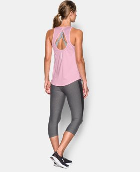 New Arrival  Women's UA Fly-By 2.0 Fitted Tank LIMITED TIME: FREE SHIPPING 1 Color $33.99