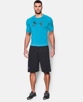 Men's UA HeatGear® Armour Graphic Short Sleeve Compression Shirt  1 Color $17.99 to $22.49
