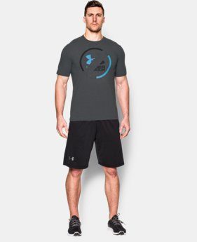 Men's UA Circle Split T-Shirt  1 Color $22.99