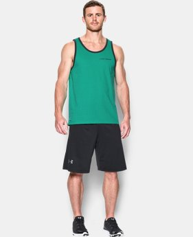 Men's Charged Cotton® Tank  2 Colors $18.99