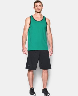 Men's Charged Cotton® Tank LIMITED TIME: FREE U.S. SHIPPING 8 Colors $14.24 to $18.99