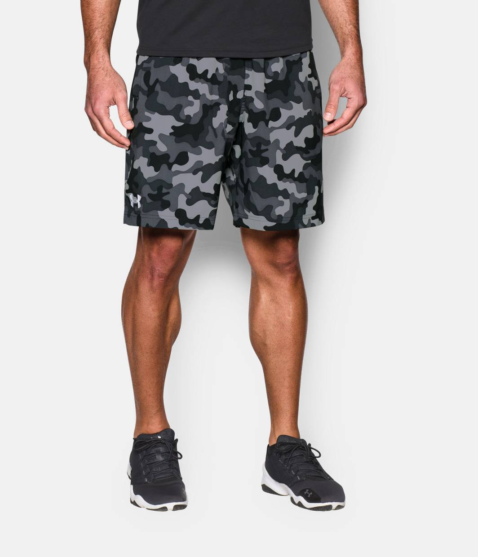 Men's UA HIIT Camo Shorts   Under Armour CA