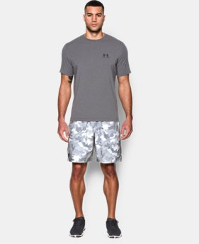 Men's UA HIIT Camo Shorts   1 Color $33.74