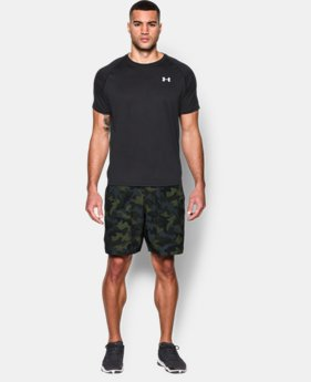 Men's UA HIIT Camo Shorts   1 Color $37.99