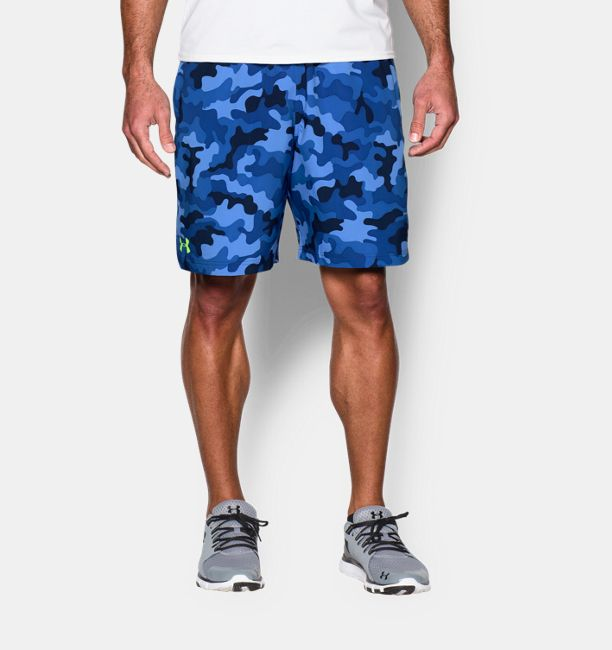 Men s UA HIIT Camo Shorts  71f347d6312