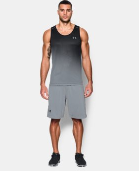 Men's UA Tech™ Printed Tank  4 Colors $32.99