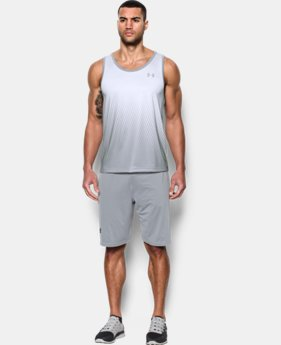 Men's UA Tech™ Printed Tank LIMITED TIME: FREE SHIPPING 1 Color $32.99