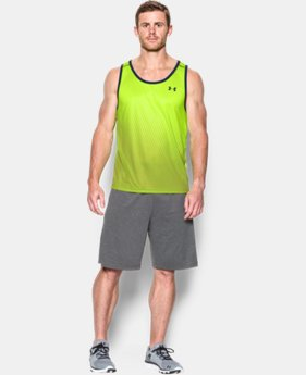 Men's UA Tech™ Printed Tank LIMITED TIME: FREE SHIPPING  $32.99