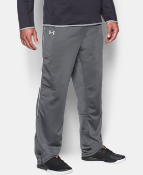 Men's UA Rival Knit Warm-Up Pants  1  Color Available $44.99