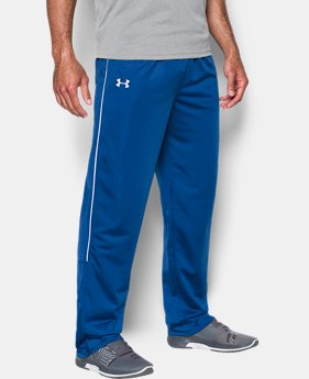 Men's UA Rival Knit Warm-Up Pants  1  Color Available $50