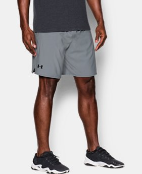 "Men's UA Qualifier 9"" Woven Shorts  1  Color Available $39.99"
