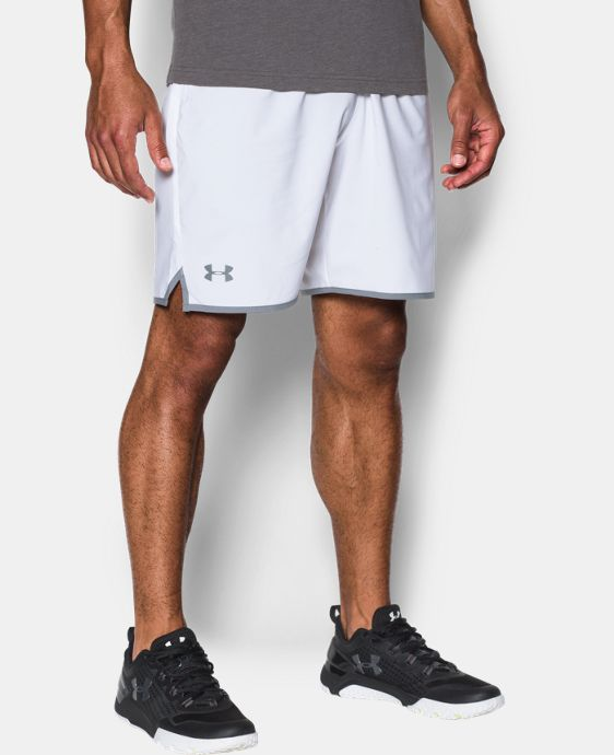 "Men's UA Qualifier 9"" Woven Shorts LIMITED TIME: FREE U.S. SHIPPING 1 Color $26.99"