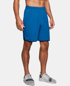 "Men's UA Qualifier 9"" Woven Shorts LIMITED TIME: FREE U.S. SHIPPING 1 Color $34.99"