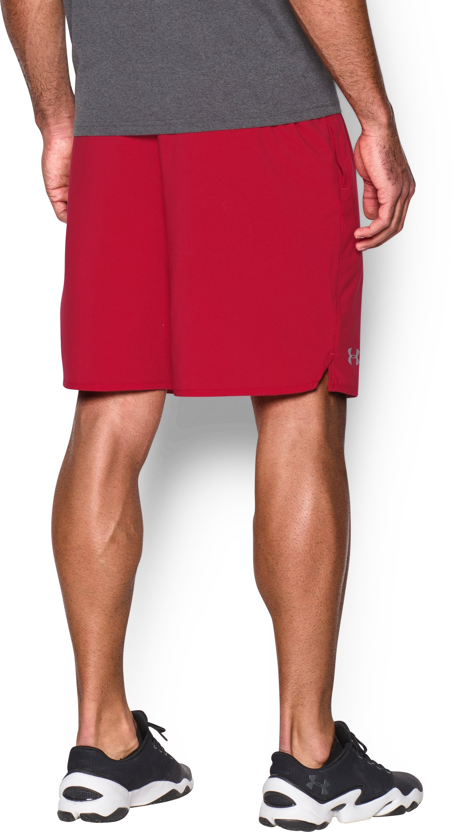 "Men's UA Qualifier 9"" Woven Shorts, Red, undefined"