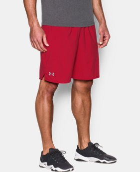 "Men's UA Qualifier 9"" Woven Shorts  1  Color Available $34.99"