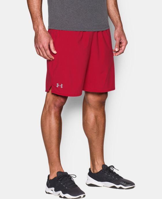 "New Arrival Men's UA Qualifier 9"" Woven Shorts LIMITED TIME: FREE U.S. SHIPPING 1 Color $34.99"