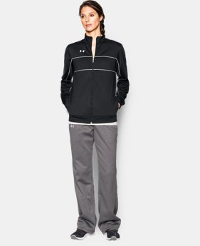 Women's UA Rival Knit Warm Up Jacket  1  Color $50