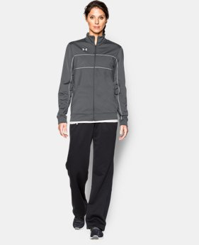 Women's UA Rival Knit Warm Up Jacket  1 Color $49.99
