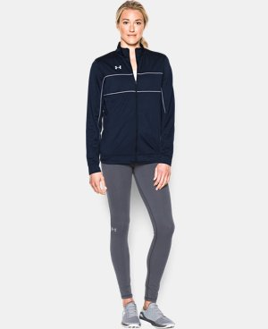 Women's UA Rival Knit Warm Up Jacket LIMITED TIME: FREE U.S. SHIPPING 1 Color $49.99