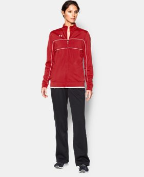 Women's UA Rival Knit Warm Up Jacket
