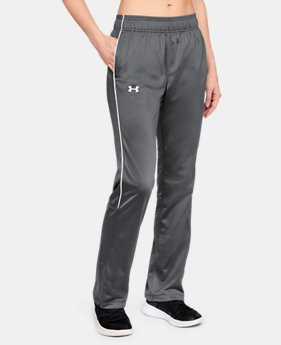 Women's UA Rival Knit Warm-Up Pants  1  Color Available $45