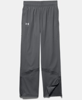 Girls' UA Pregame Woven Warm-Up Pants  1  Color Available $44.99