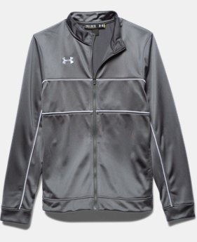 Boys' UA Rival Knit Warm-Up Jacket  2  Colors Available $49.99