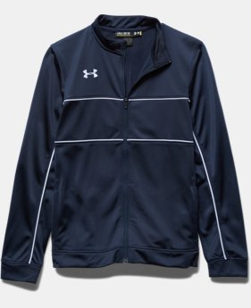 Boys' UA Rival Knit Warm Up Jacket