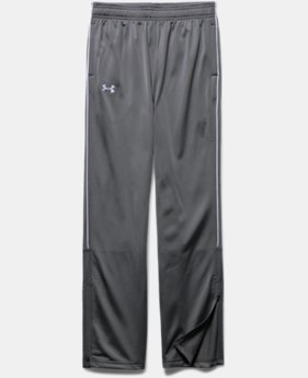Boys' UA Rival Knit Warm Up Pants
