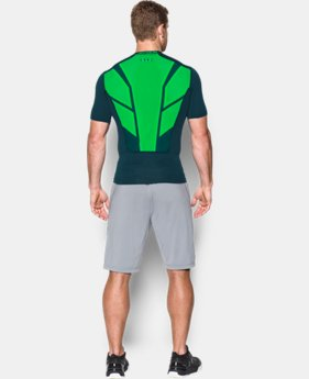 Men's UA HeatGear® Armour CoolSwitch Supervent Short Sleeve Shirt