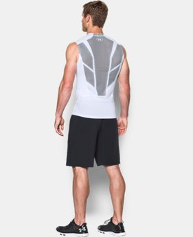 Men's UA HeatGear® Armour CoolSwitch Supervent Sleeveless Shirt