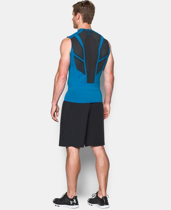 Men's UA HeatGear® Armour CoolSwitch Supervent Sleeveless Shirt LIMITED TIME: FREE U.S. SHIPPING 2 Colors $37.99
