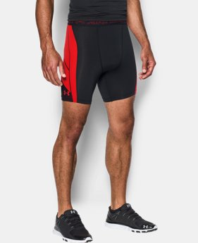 Men's UA HeatGear® Armour CoolSwitch Supervent Shorts LIMITED TIME: FREE SHIPPING 2 Colors $49.99