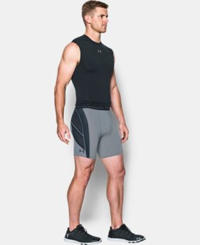 Best Seller Men's UA HeatGear® Armour CoolSwitch Supervent Shorts LIMITED TIME: FREE SHIPPING 2 Colors $44.99