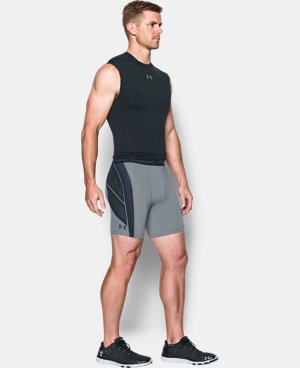Men's UA HeatGear® Armour CoolSwitch Supervent Shorts LIMITED TIME: FREE SHIPPING 1 Color $33.99 to $37.99