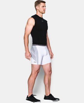 Best Seller Men's UA HeatGear® Armour CoolSwitch Supervent Shorts LIMITED TIME: FREE SHIPPING 1 Color $44.99