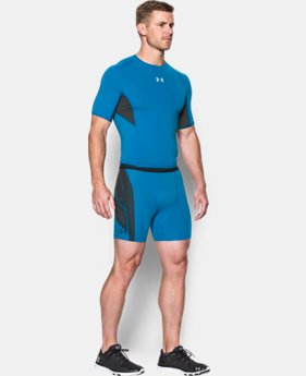 Best Seller Men's UA HeatGear® Armour CoolSwitch Supervent Shorts LIMITED TIME: FREE SHIPPING  $44.99