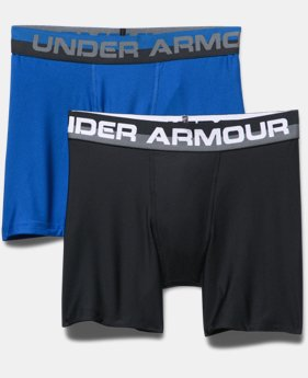 Boys' UA Original Series Boxerjock® 2-Pack