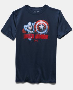Boys' Under Armour® Alter Ego Captain America T-Shirt