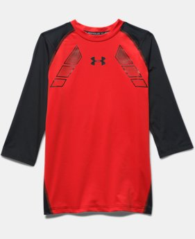 Boys' UA Show Me Sweat ¾ Sleeve Shirt
