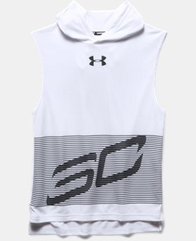 Boys' SC30 Hooded Sleeveless Shirt