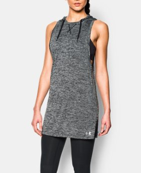 Women's UA Tech™ Hooded Tunic  1 Color $37.99
