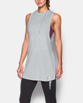 Women's UA Tech™ Hooded Tunic  1 Color $33.99