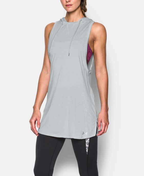 New Arrival  Women's UA Tech™ Hooded Tunic  1 Color $37.99 to $49.99