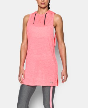 Women's UA Tech™ Hooded Tunic LIMITED TIME OFFER + FREE U.S. SHIPPING 3 Colors $33.74